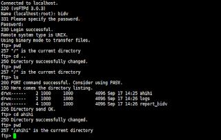 Cài đặt FTP trên server Debian