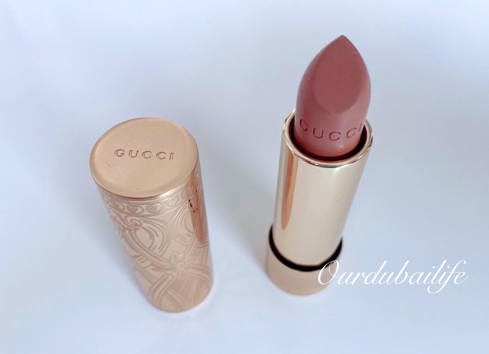 Gucci lipstick 2020 Rouge à Lèvres Satin Lipstick - Shade 103 : Carol Beige