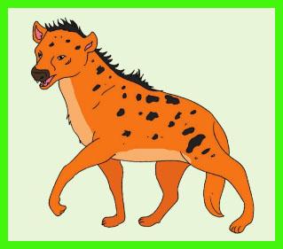 Bagaimana cara Hyena mempertahankan diri dan wilayahnya