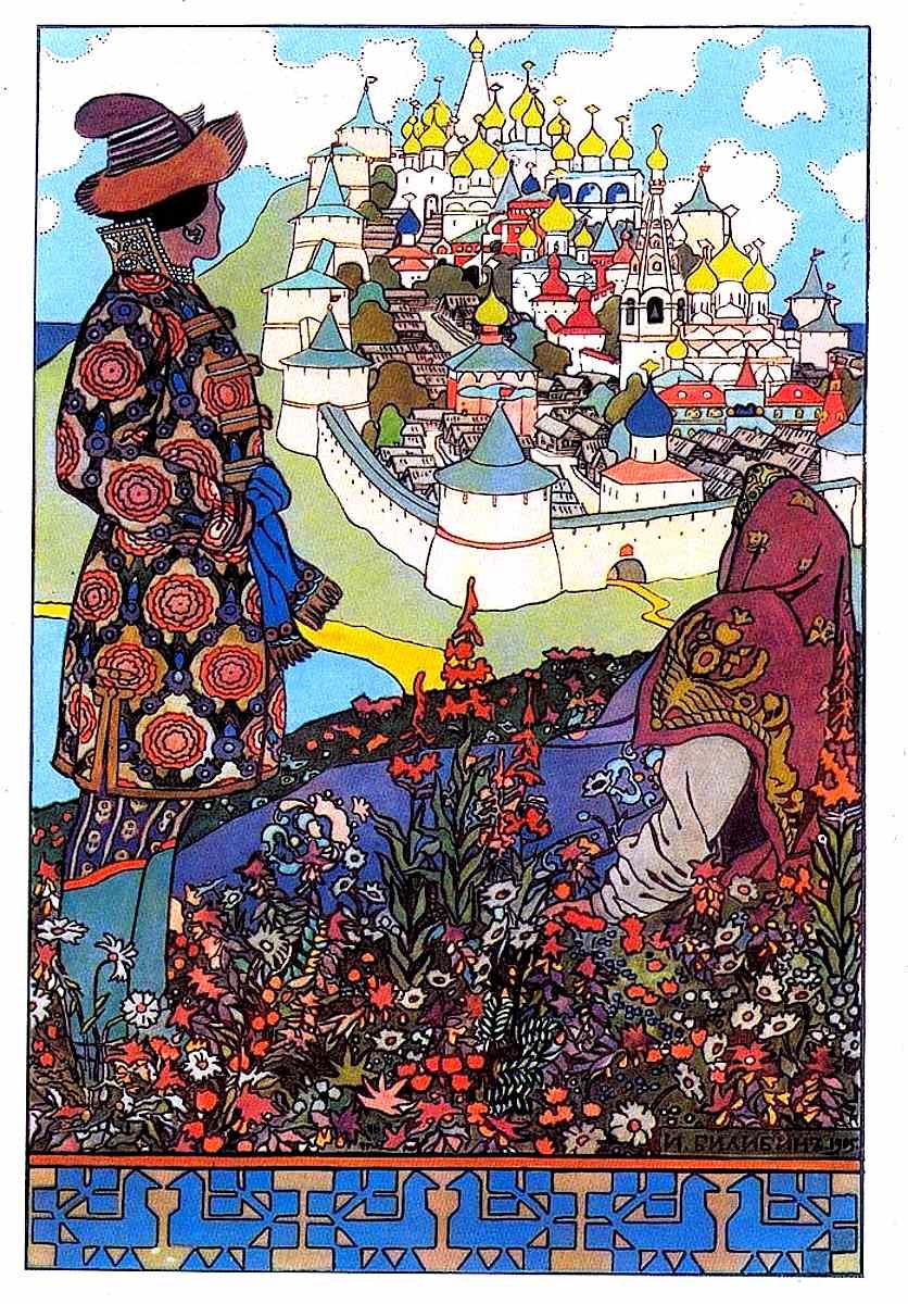 Ivan Bilibin illustration