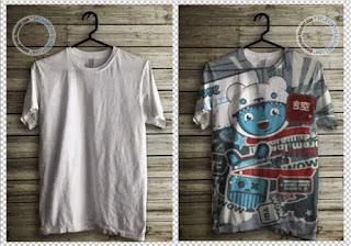 cara Tutorial Edit Foto Membuat Desain Pada Baju