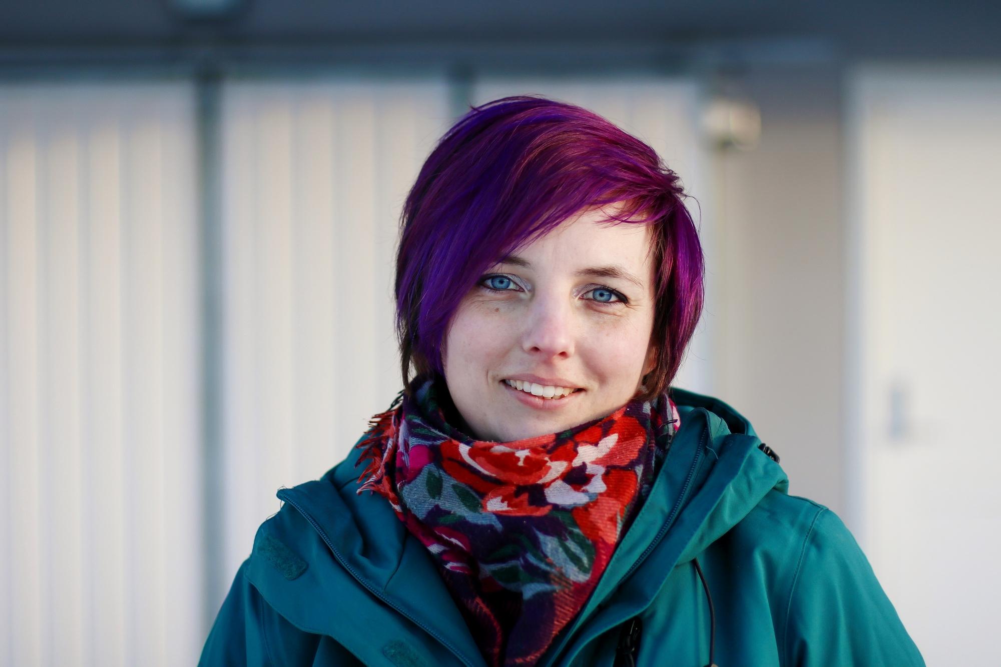 Anna-Maria Svedberg, etolog i företaget Etologica, hundkurser i Härnösand