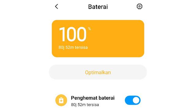 Cara Menghemat Baterai Xiaomi - Aktifkan Mode Hemat Daya