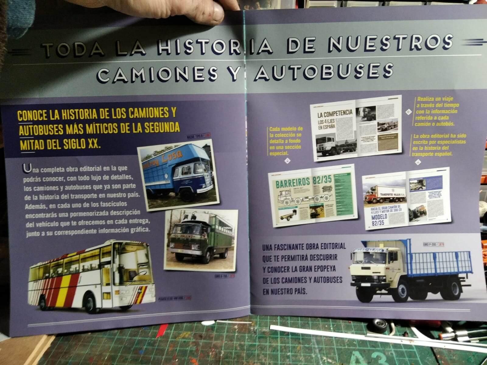 coleccion camiones y autobuses españoles, coleccion camiones y autobuses españoles