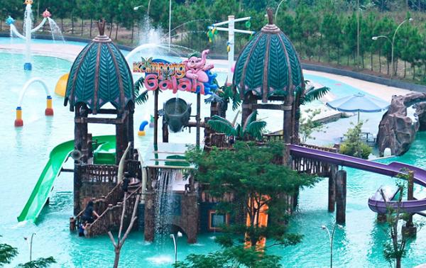 Objek wisata Kampung Gajah Lembang