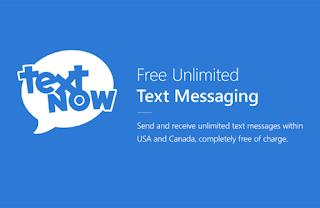 تحميل تطبيق textnow للحصول علي رقم امريكي لحل مشاكل الفيس