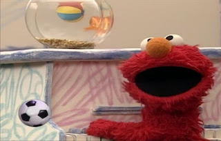 Elmo and Dorothy sing the Ball Song. A computer generated ball (CGI) bounces throughout the song. Elmo's World Balls The Ball Song
