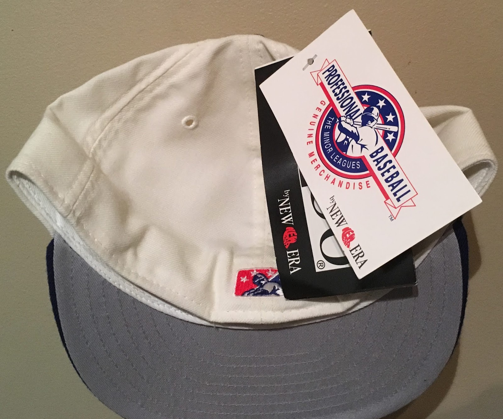 877acf7651b2f The MILB batterman here tells me this cap has to be from 1994 at the  earliest. Also