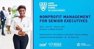 Lagos Business School Certificate in Non-Profit Management 2020