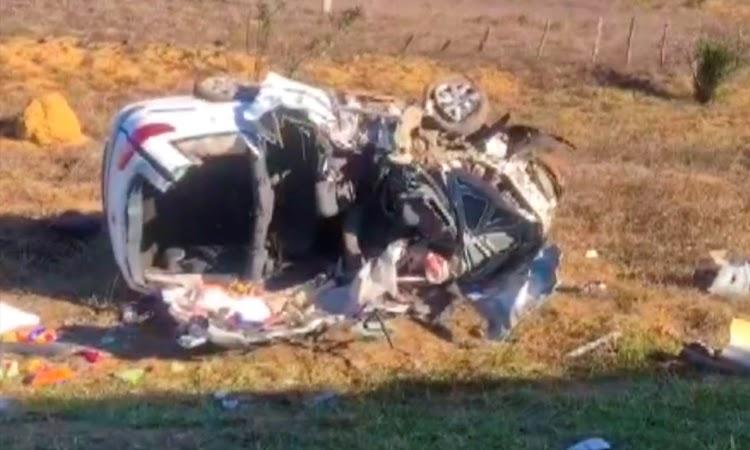 Duas pessoas morrem e outras duas ficam feridas em acidente no Sudoeste da Bahia