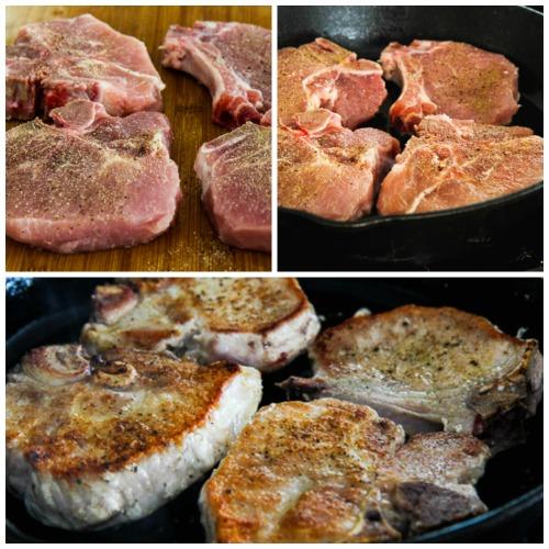 Pork Chops with Balsamic Glaze found on KalynsKitchen.com