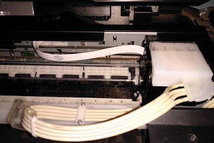 Tutorial Mengganti  Plastik Penahan Selang Infus Printer Epson Seri L yang Hilang