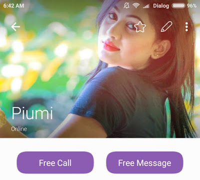 Piumi Hansamali Phone Number