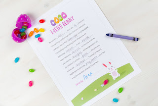 Image: Personal Creations | Easter bunny letter
