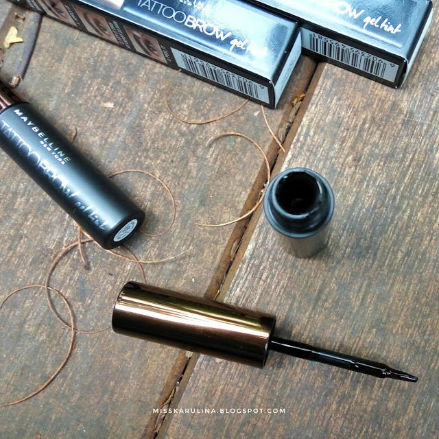 Review Maybelline tattoo brow gel