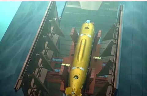 Russia under water drone