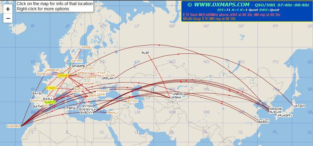 GM4FVM's radio world: DX Maps on