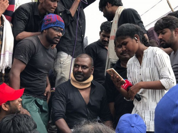 நடிகர் ராகவா லாரன்ஸ் செய்த திருகுதாளம்!!! முடிந்த பின் வெளியான அதிருப்தி…