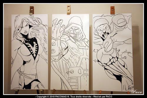 L'Incroyable Hulk,sur toiles par paco illustrateur graphiste artiste peintre