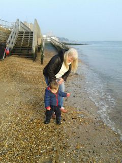 my mummy spam, mymummyspam, guest post, my mum, mum, mother. motherhood, family, daughter, grandson, love, happiness, birth, nan, nanny, grandmother, beach, together, day out, seafront,
