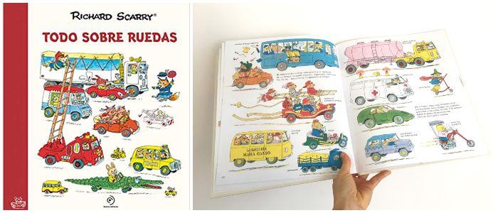 cuento infantil 5 a 8 años regalar Navidades Todo Sobre ruedas Richard Scarry