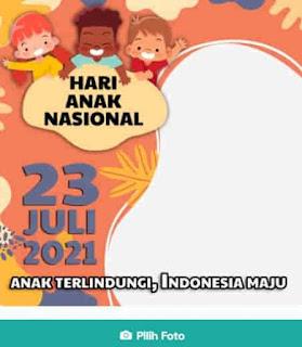 twibbon hari anak nasional 2021 terbaik