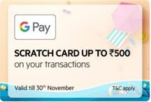 Google Pay Offer - Get Up To Rs.500 Cashback On OYO Room Booking