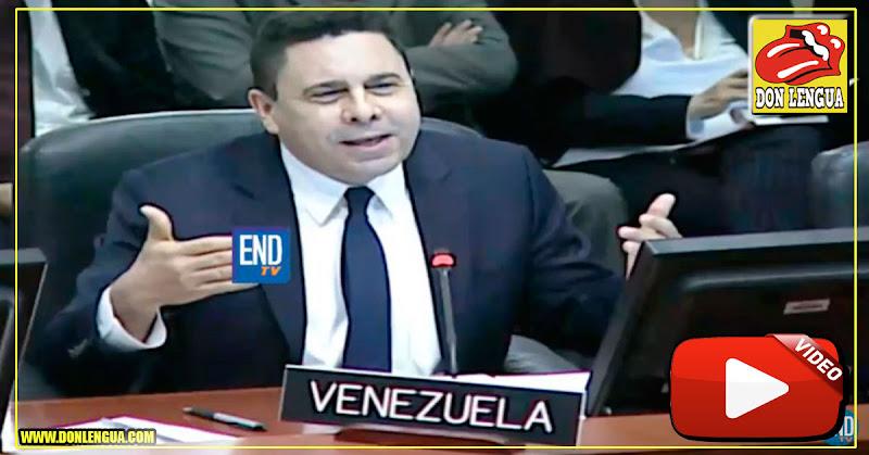 Samuel Moncada llora y patalea por las Visas a Disney en la OEA