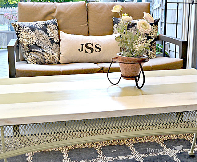 Up-Cycled Outdoor Coffee Table
