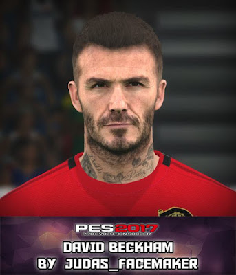 PES 2017 David Beckham Face By Judas_Facemaker
