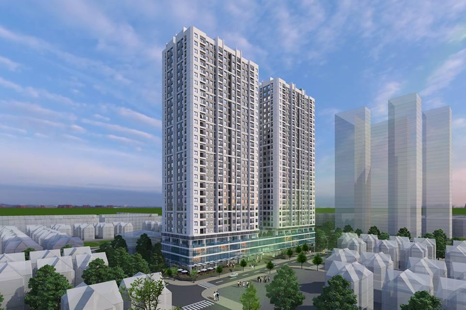 Phối cảnh dự án ICID Complex - Lê Trọng Tấn