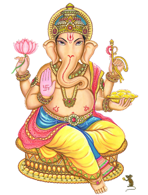Lord Ganesha background copyright free png image