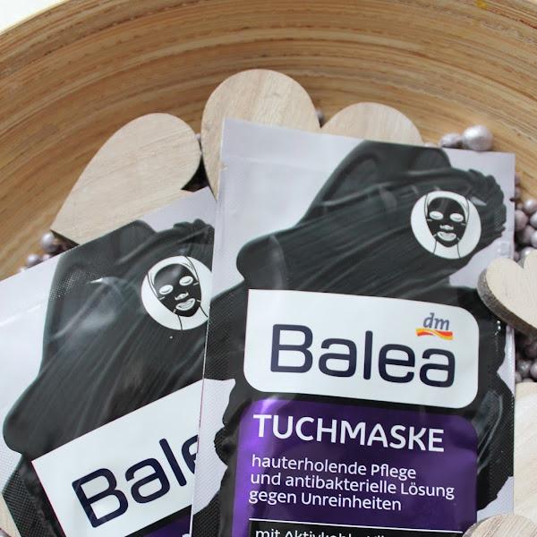 [Review] Balea - Tuchmaske Aktivkohle