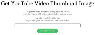 Cara Mengambil Gambar Thumbnail Dari Video Youtube Kualitas HD