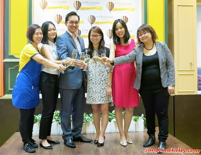 l'occitane Malaysia, l'occitane Malaysia 10th Anniversary Celebration, l'occitane Malaysia management team