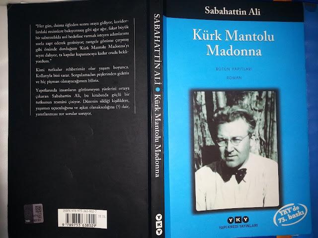 En Çok Okunan Kitaplar - Kürk Mantolu Madonna - Sabahattin Ali - Kurgu Gücü