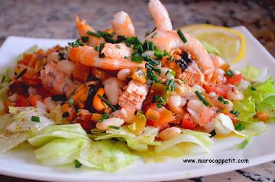 Recette salade pêcheur | Fisherman's salad recipe