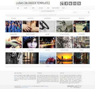 Lugas Blogger Template