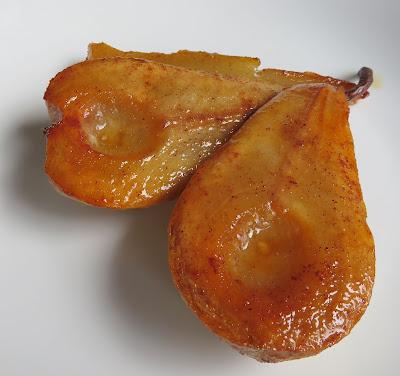 Roasted Pears with Honey, Cinnamon & Cardamom