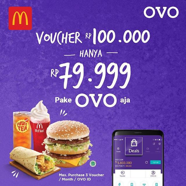 #OVO - #Promo Voucher 100K Hanya Rp.79.999 Pakai OVO (s.d 31 Mei 2019)