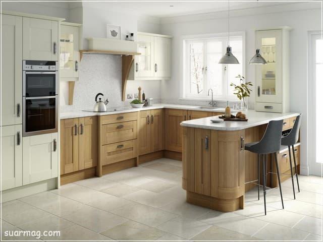 مطابخ خشب 2020 16   Wood Kitchens 2020 16