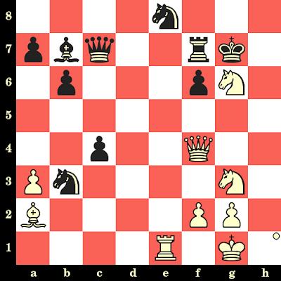 Les Blancs jouent et matent en 4 coups - Slavoljub Marjanovic vs Emir Dizdarevic, Sarajevo, 1985