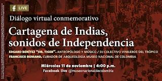 Cartagena de Indias, sonidos de Independencia