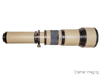Cramer Imaging's photograph of a Bower extreme telephoto camera lens