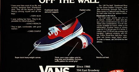 theothersideofthepillow  vintage HOLY GRAIL VANS 2-tone navy blue   red  DOGTOWN ERA style  95 MADE IN USA 1976 new old dead stock in box US10 mens  70 s OFF ... 35b68f0408