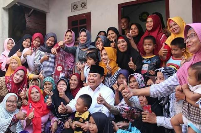Pastikan Pembangunan Secara Merata, Bupati OI Kunjungi Desa