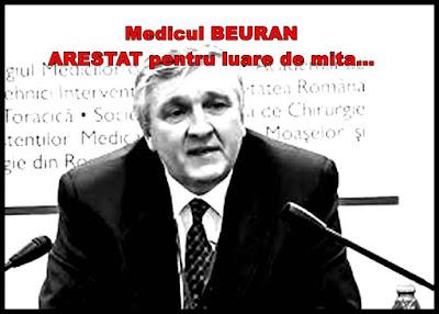 mircea beuran biografie wiki medic arestat pentru luare de mita