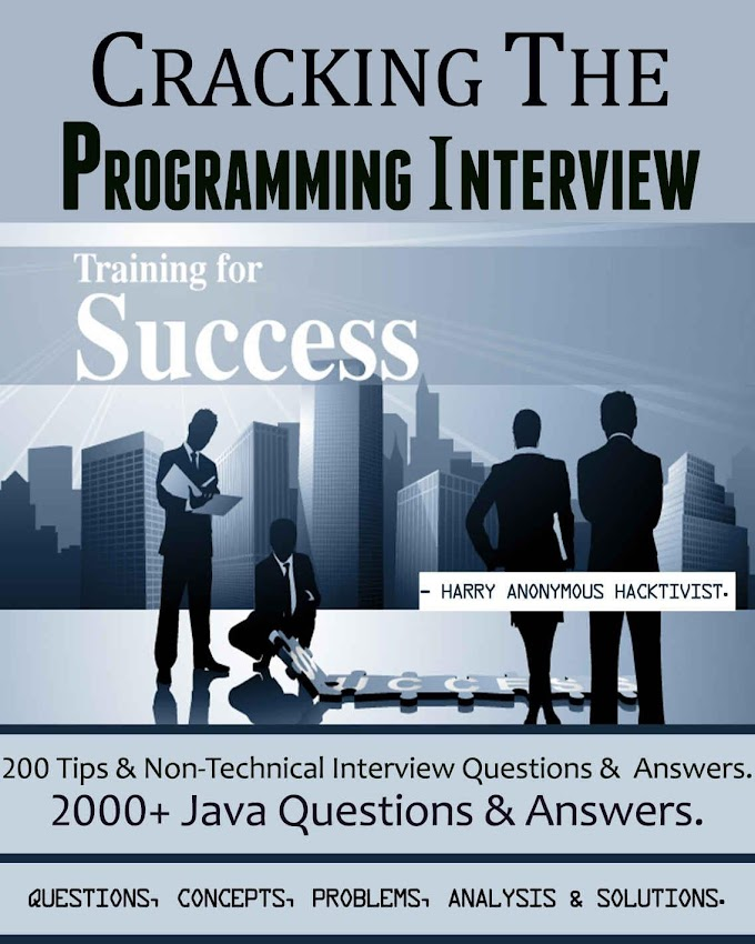 Cracking The Programming Interview, Training for Success