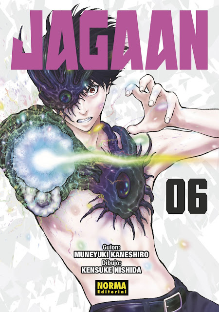 Reseña de Jagaan vol. 6 de Muneyuki Kaneshiro y Kensuke Nishida - Norma Editorial