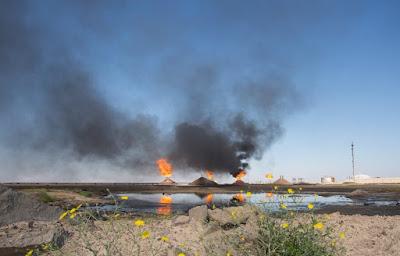 تسجيل 2000 مصاب بالسرطان سنوياً بسبب الشعلات النفطية